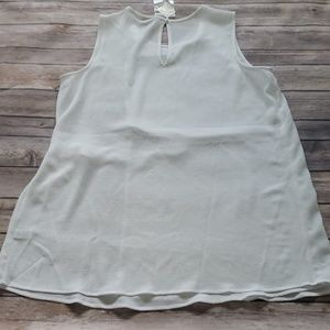 Cato Tops - NWT Cato white faux wrap blouse w/adjustable side